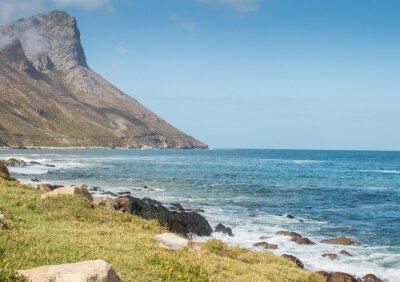Fototapeta Gordon Bay South Africa pobřežní horská cesta