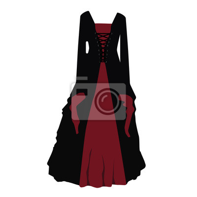 360c68ccb2f0 Gotické šaty fototapeta • fototapety se závitem