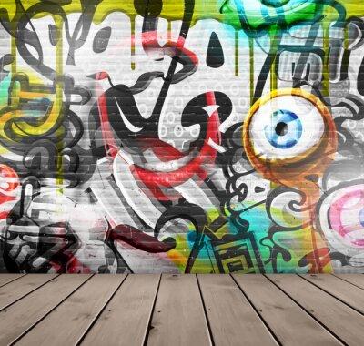 Fototapeta Graffiti na zdi