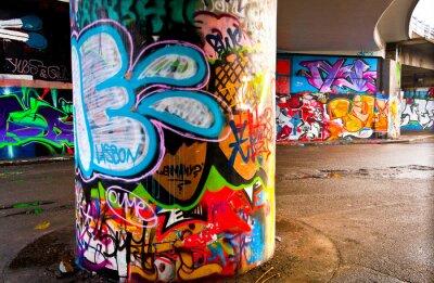 Fototapeta Graffiti na zeď