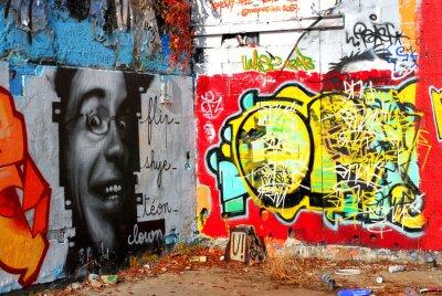 Fototapeta graffiti: pozadí