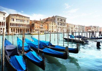 Fototapeta Grand Canal, Benátky, Itálie