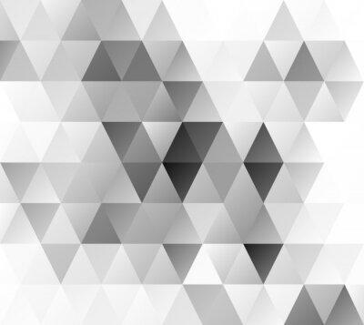 Fototapeta Gray Grid mozaika pozadí, kreativní design šablony