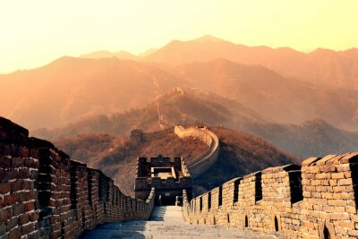 Fototapeta Great Wall ráno