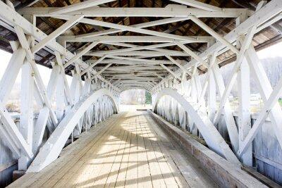 Fototapeta Groveton Krytý most (1852), New Hampshire, USA