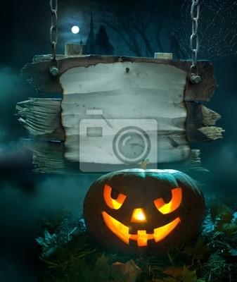 Halloween pozadí design