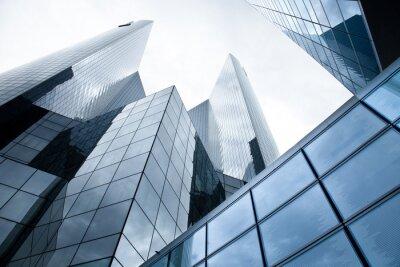 Fototapeta High-vzestup budovy - banky