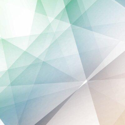 Fototapeta Hipster moderní transparentní geometrické pozadí
