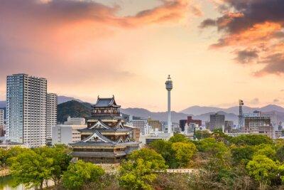 Fototapeta Hiroshima Japan Panoráma