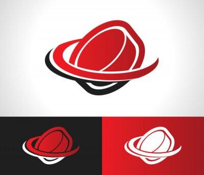 Fototapeta Hockey Puck Logo Icon