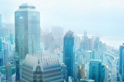 Fototapeta Hong Kong obchodní centrum