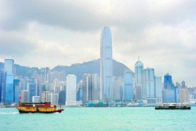 Fototapeta Hong Kong trajekt