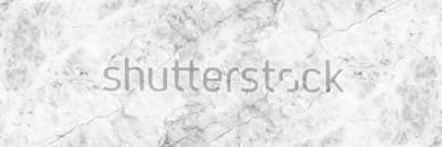 Fototapeta horizontální elegantní bílé mramorové pozadí.