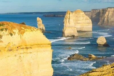 Fototapeta Horniny dvanácti apoštolů podél australského pobřeží