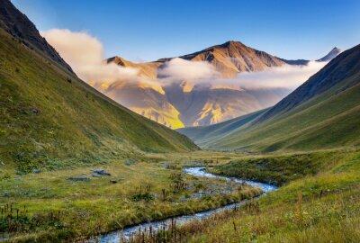 Fototapeta Horská krajina