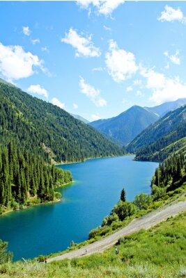 Fototapeta Horské jezero