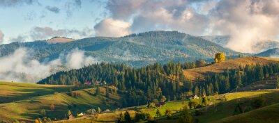Fototapeta Hory v oblacích