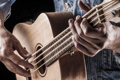 Fototapeta hrát ukulele basy