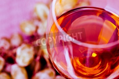 Fototapeta Hroznová a víno