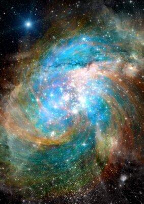 Fototapeta Hvězdy, prach a plyn mlhovina