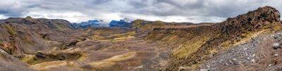 Fototapeta Iceland Landmannalaugar trek divoká krajina