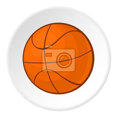 Ikona Basketbal Kreslene Ilustrace Basketbal Vektorove Ikony