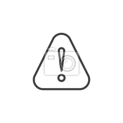 Ikona Vykresove Znacky Linearni Stylove Oznaceni Pro Mobilni