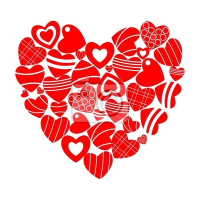 Fototapeta In the heart of hearts