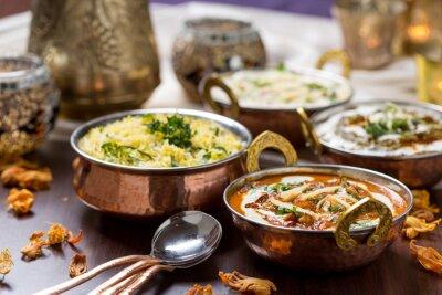 Fototapeta Indické jídlo