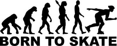 Fototapeta Inline Skating Evolution