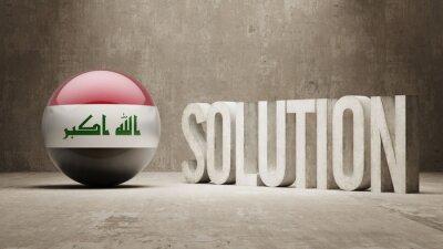 Irák. Solution Concept.