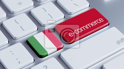 Itálie koncept e-commerce