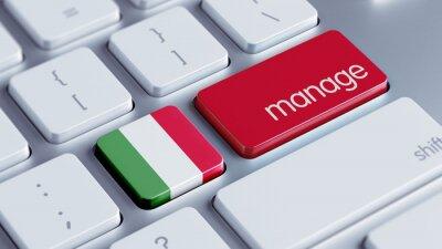 Itálie Správa Concept