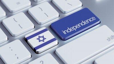 Izrael Nezávislost Concept
