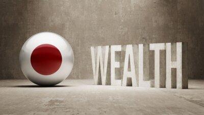 Japonsku. Bohatství Concept.