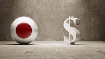 Japonsku. Peníze Sign koncept.