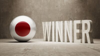 Japonsku. Vítěz Concept.