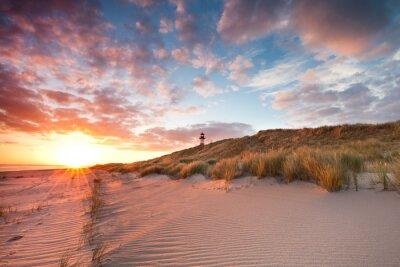 Fototapeta Jarní ráno na Sylt Wadden moře