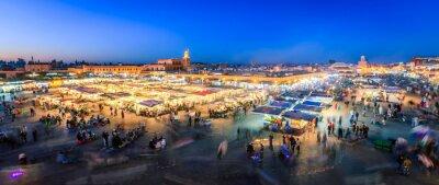 Fototapeta Jemaa El Fnaa, Marrákeši