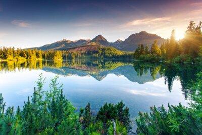 Fototapeta jezero