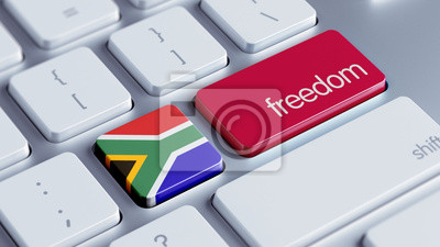 Jižní Afrika Freedom Concept