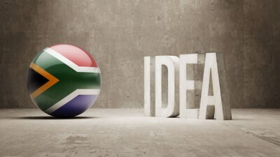Jižní Afrika. Idea Concept.