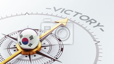 Jižní Korea Compass Concept