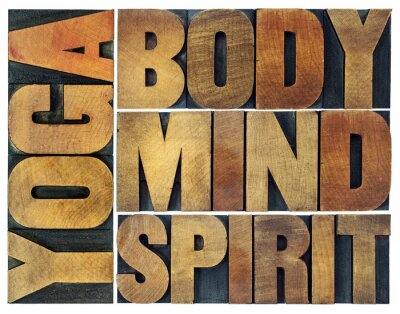 Fototapeta jóga, těla, mysli, duše a duch