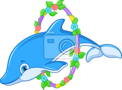 Fototapeta Jumping Dolphin