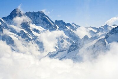 Fototapeta Jungfraujoch Alpy horské krajiny