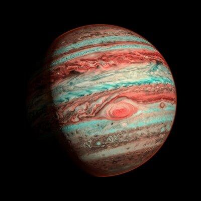 Fototapeta Jupiter izolovaný planeta