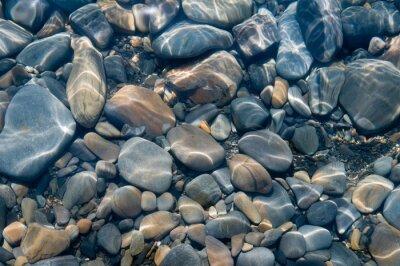 Fototapeta Kameny pod vodou.