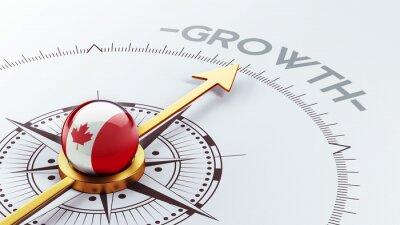Kanada Concept růst.