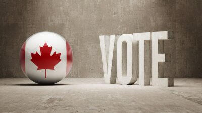 Kanada. Hlasovat koncept.